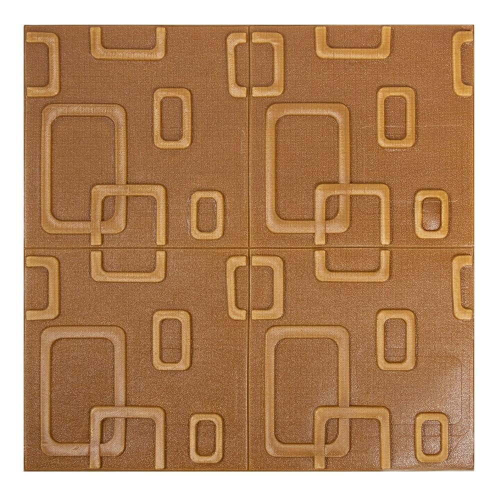 Parato 3D Adesivo in PE GEOMETRICO 965485 antiurto fonoassorbente 70 x 70 cm