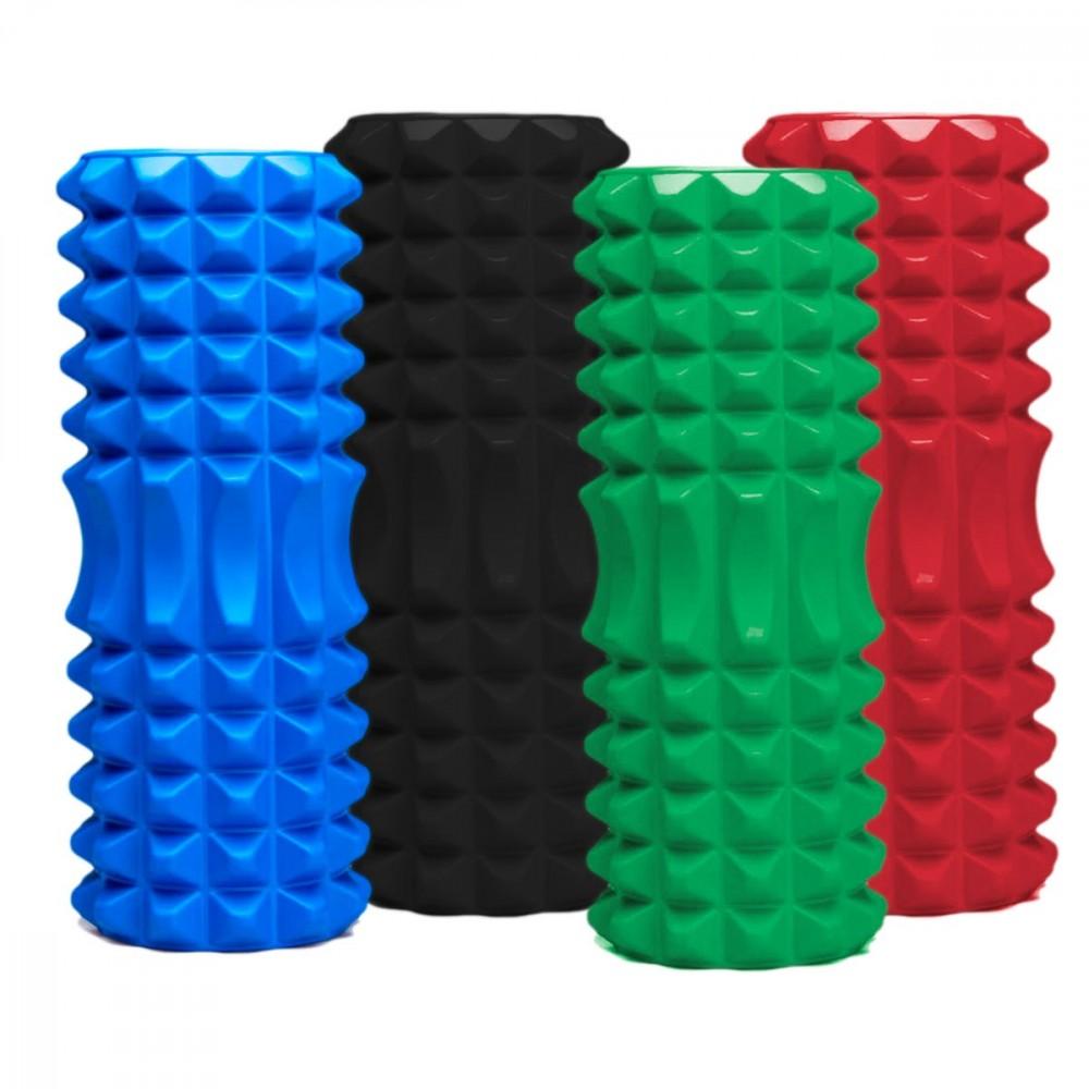 Rullo pilates sagomato da 33x12cm spugna EVA 558388 Palestra posturale