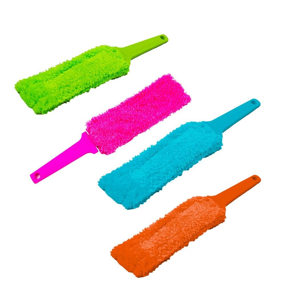RILUX Spazzola in microfibra pulisci termosifoni e veneziane 029275 lavabile