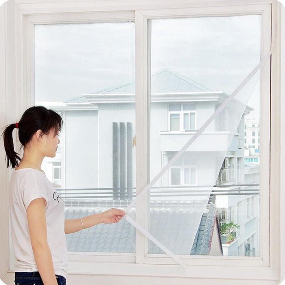 WELKHOME Tenda 000317 antinsetti per finestra 120x150cm da un velo