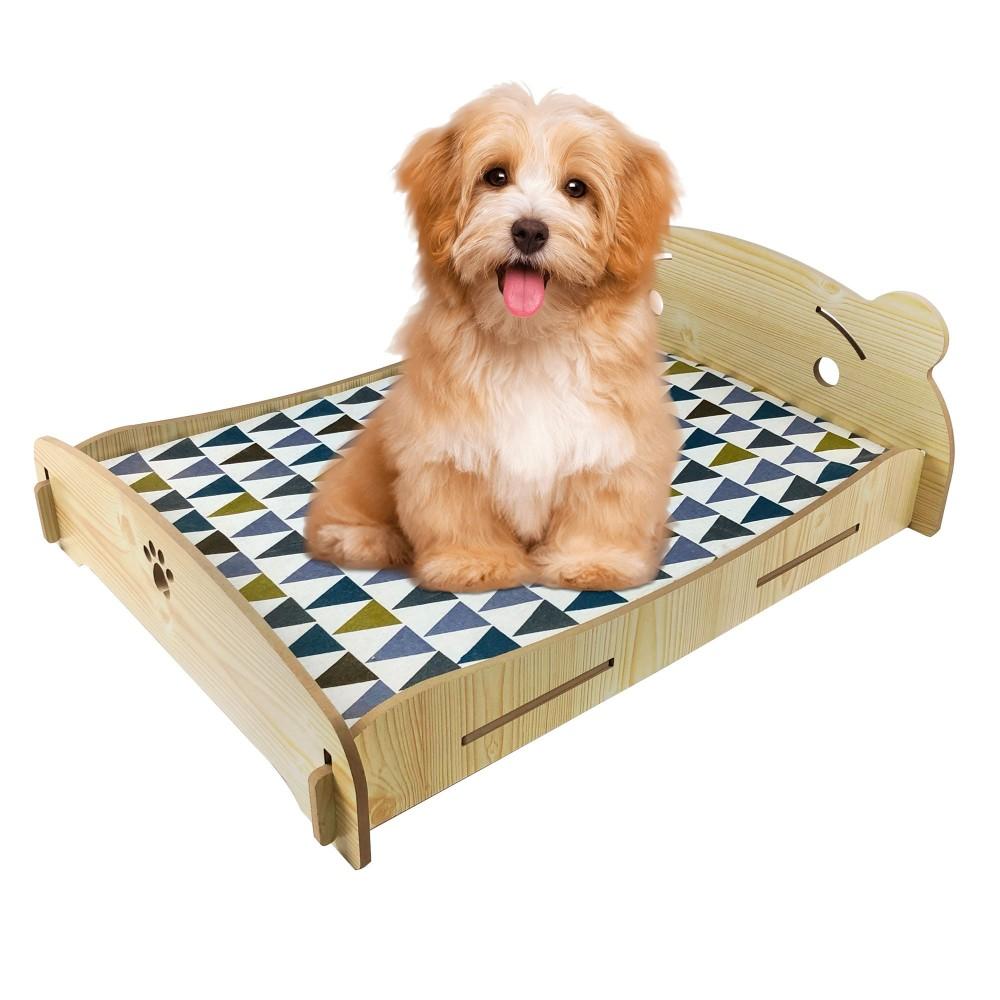 Cucce Piccole Per Cani letto cuccia per cani gatti 660034 rhombus in legno