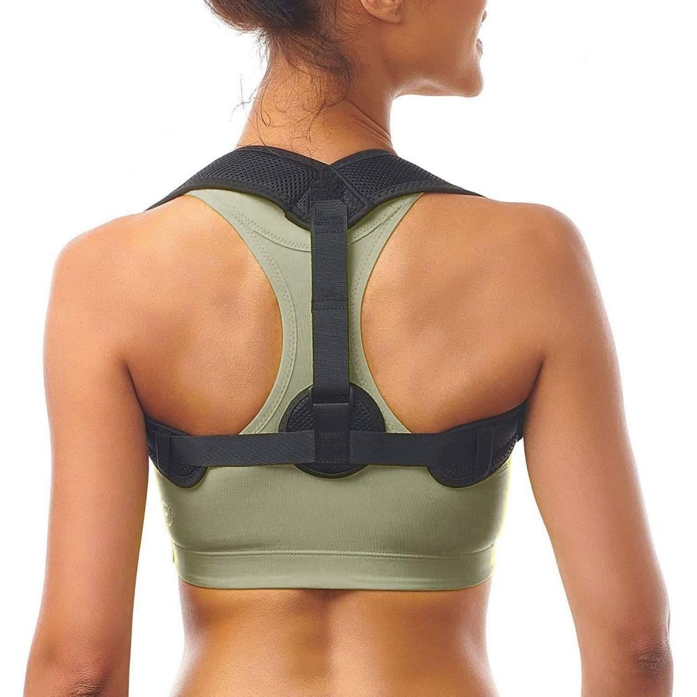 Fascia posturale correttiva per spalle e schiena 731455 anti sciatalgie e dolori