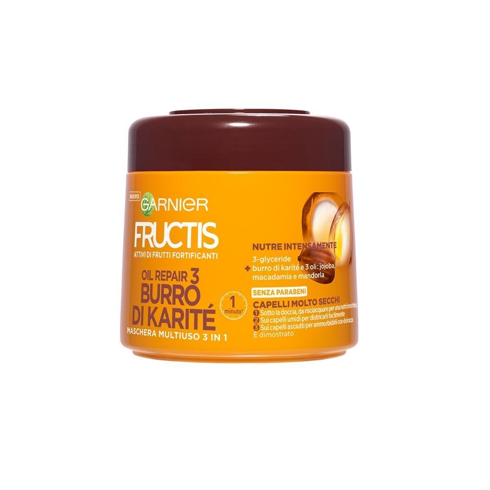 Garnier Fructis Burro di Karite' 465566 Oil Repair 3 capelli molto secchi 300mL