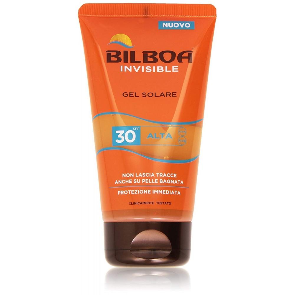 Protezione solare Bilboa Invisible 021776 Gel Solare 30 Spf ALTA 150mL