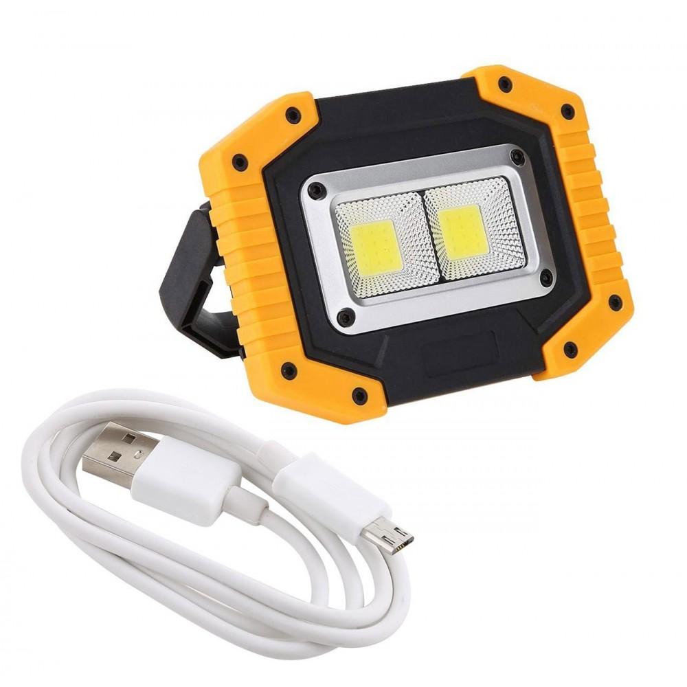 Tripla funzione W840 Lampada triangolo 881578 doppio LED d'emergenza powerbank