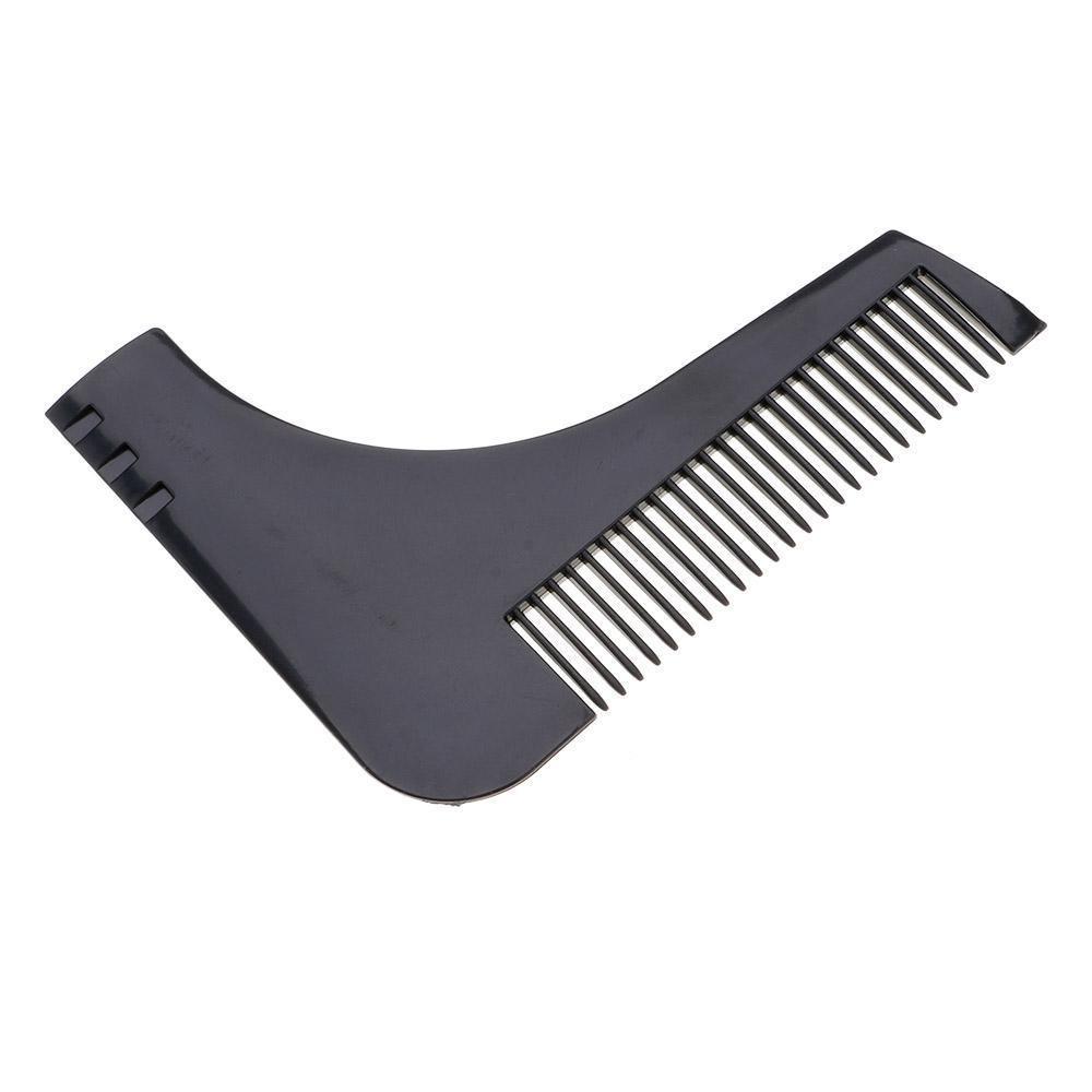 Pettine Burning Beard 176565 guida per taglio e pettine barba per linee perfette