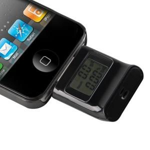 Image of Alcool test etilometro tester digitale i-phone i-pad  i-pod con schermo lcd 8435524506196