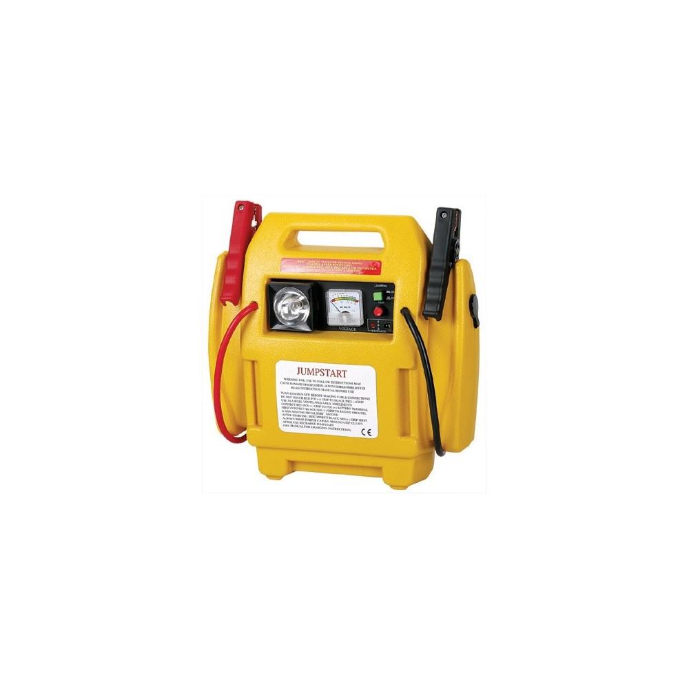 Avviatore emergenza portatile auto12v Jump Starter compressore e torcia
