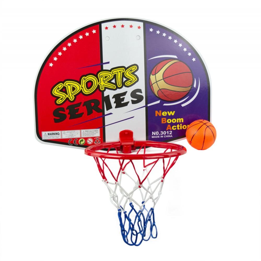 Set basket 121283 per bambini Sport Series canestro pieghevole con mini-pallone