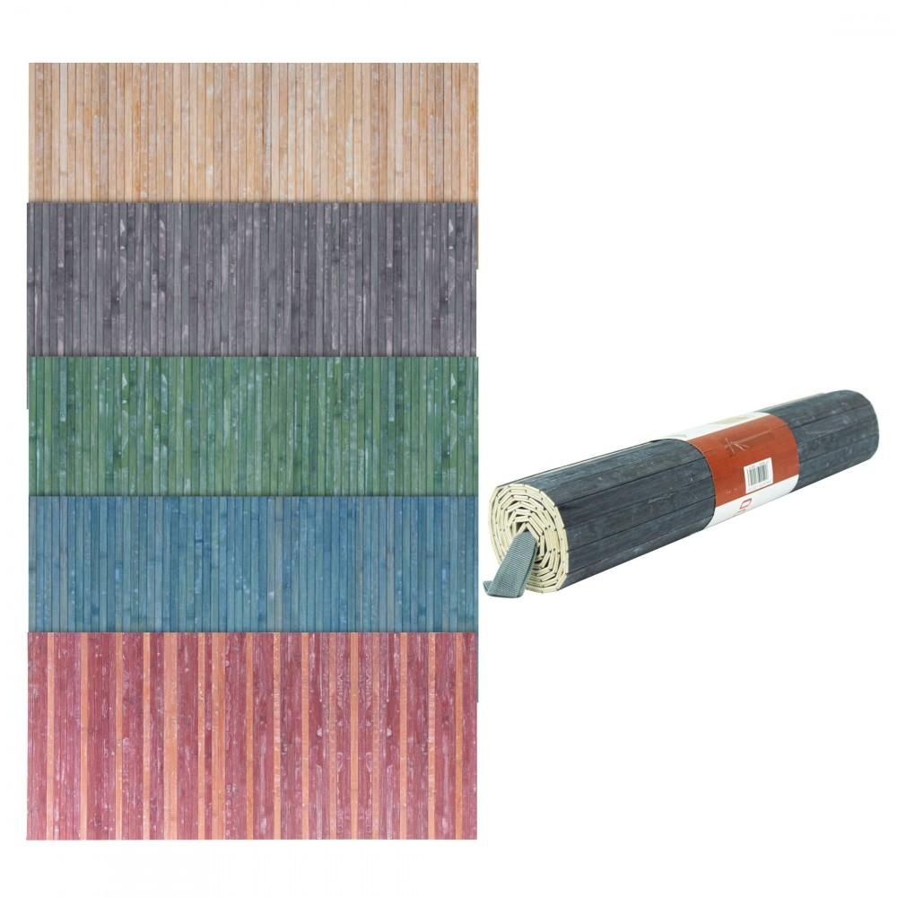 REDS Tappeto in Bamboo 800143 con fondo antiscivolo 50x120cm Lavabile