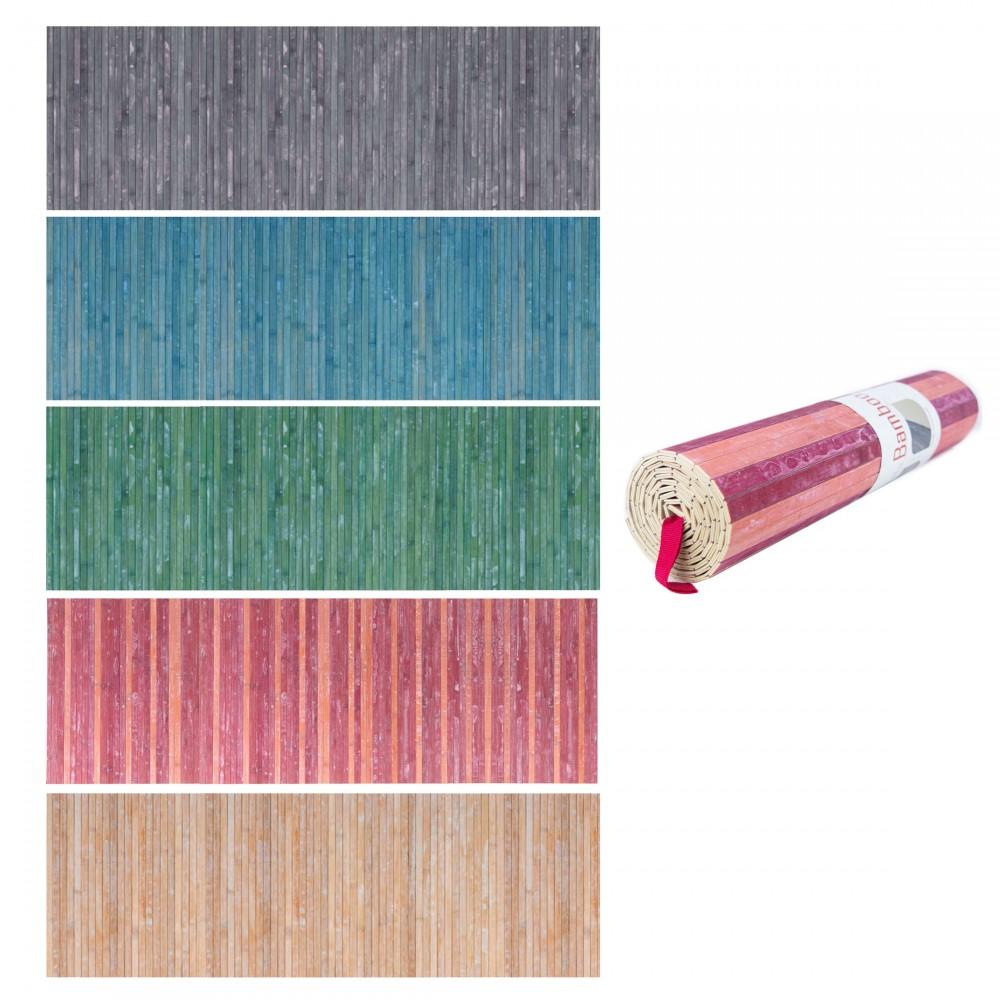 REDS Tappeto in Bamboo 800150 con fondo antiscivolo 50x180cm Lavabile