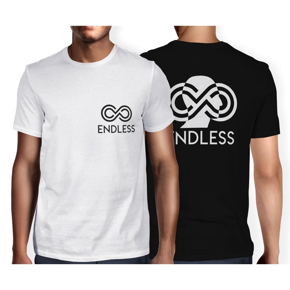 T-shirt Maglia Endless in 100% Cotone taglia dalla M alla XXL Fruit of the Loom