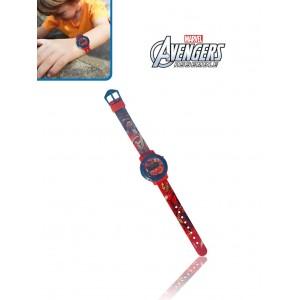 Orologio digitale piu' portafoglio Avengers idea regalo personaggi Disney