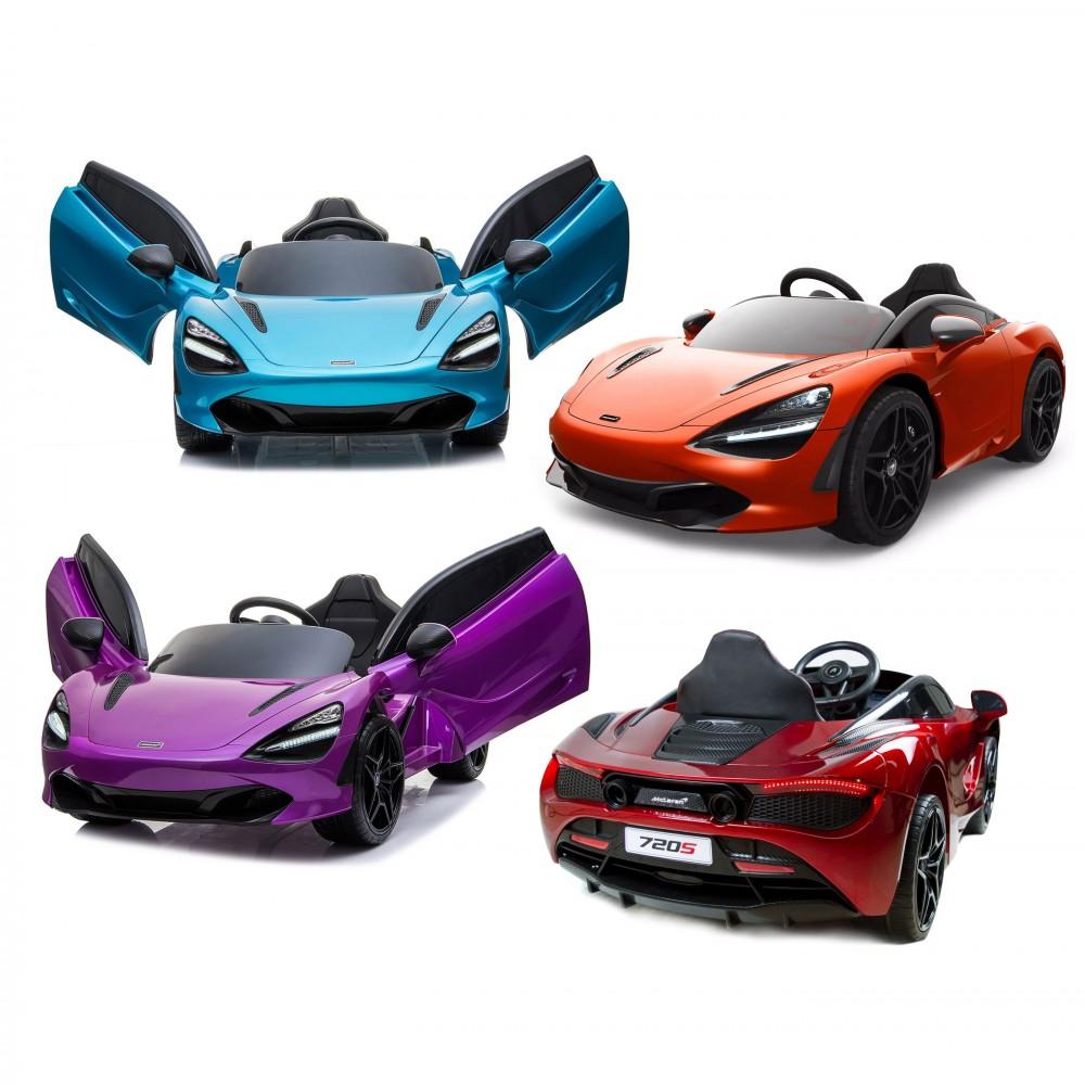 DK M720s Auto bambini elettrica MCLAREN 720S Telecomando 12V MP3 luci led