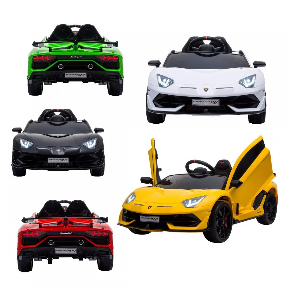 Lamborghini Aventador SVJ per Bambini 12V LT904 Telecomando 12V MP3 luci led