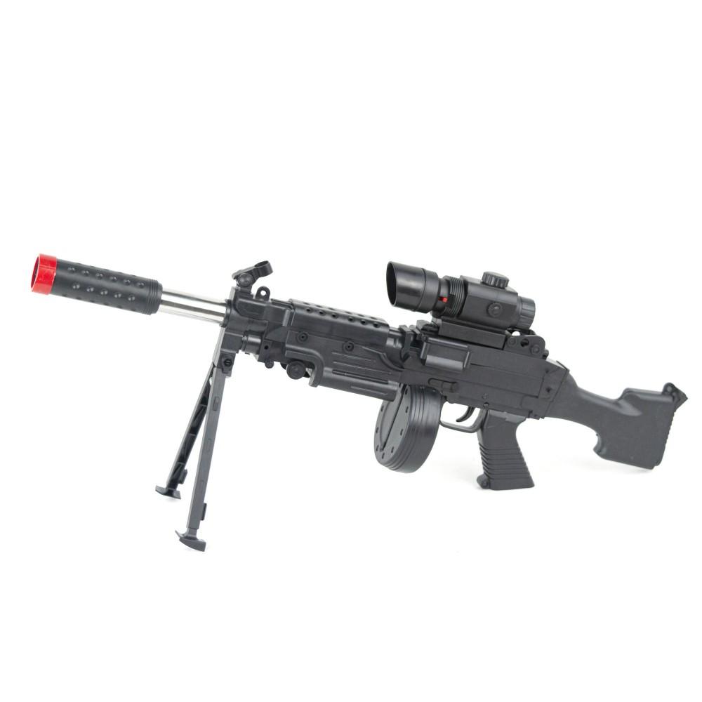 187255 Fucile di precisione a pallini AK338 BB 6mm con cavalletto e mirino Laser