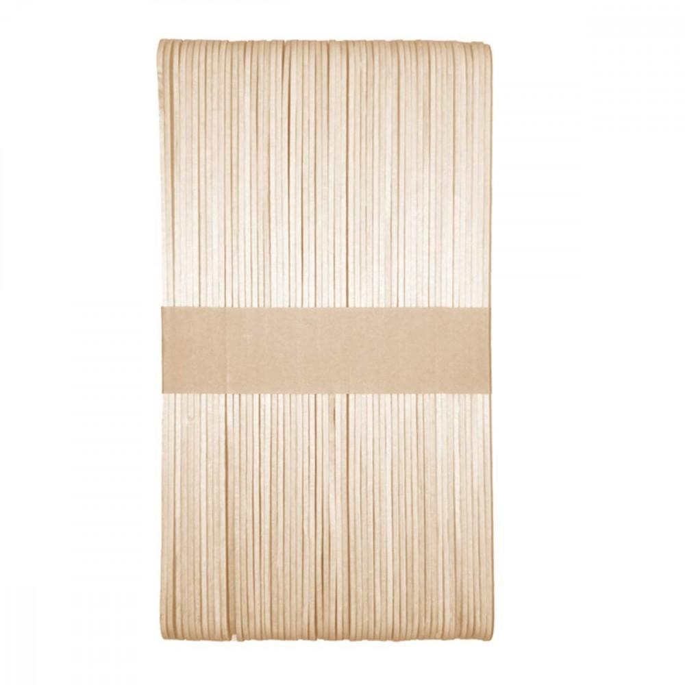 Setablu 932818 pack da 50 Spatole Stendicera monouso in legno per depilazione