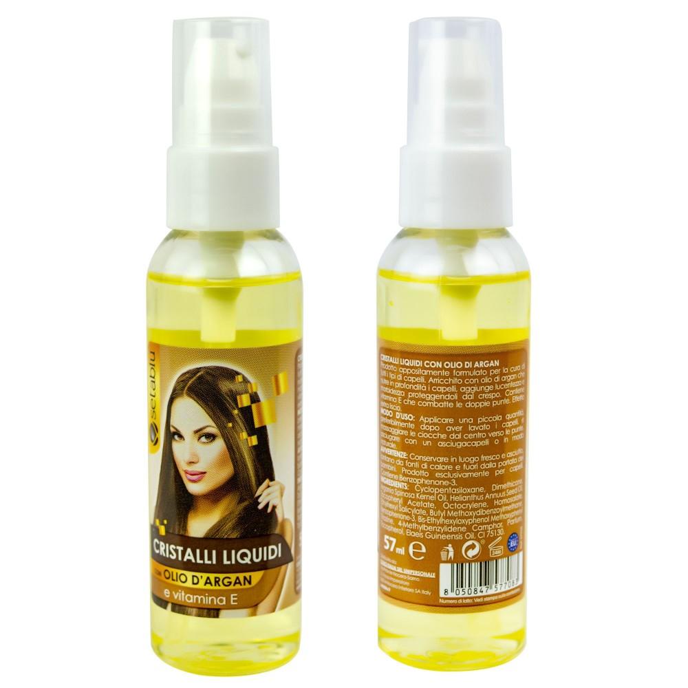 Setablu 577083 Cristalli Liquidi per Capelli con Olio d'Argan e Vitamina E