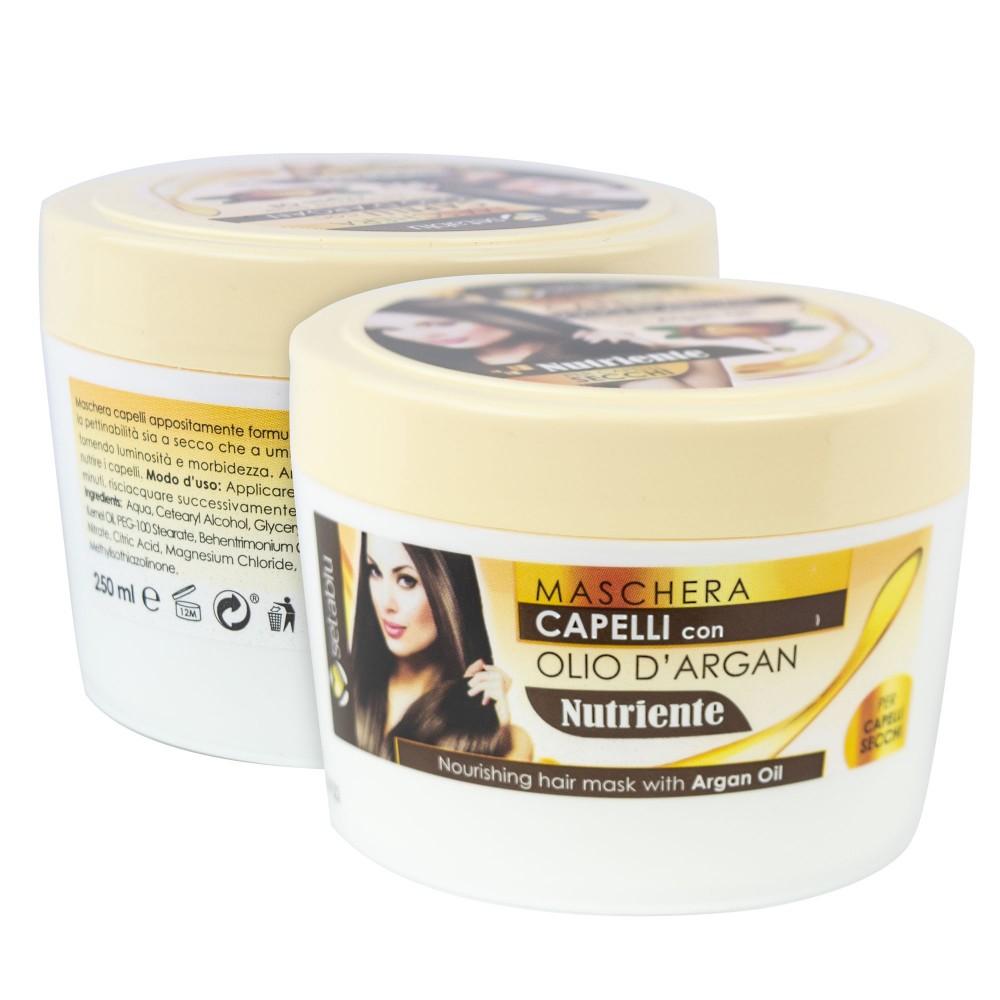 Setablu 576376 Maschera olio Nutriente Capelli con Olio Argan districante 250ml
