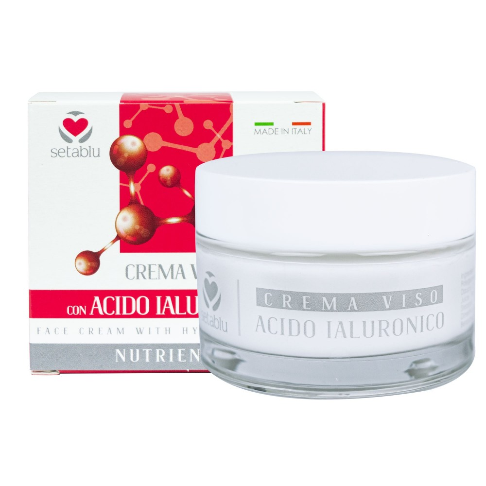 SETABLU Crema Viso Acido Ialuronico 574617 Nutriente Antiage 50ml