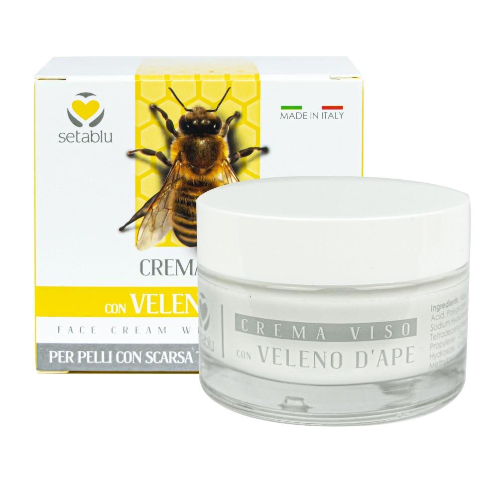 SETABLU Crema Viso Veleno d'Api 577892 pelli con scarsa tonicità elasticità 50ml