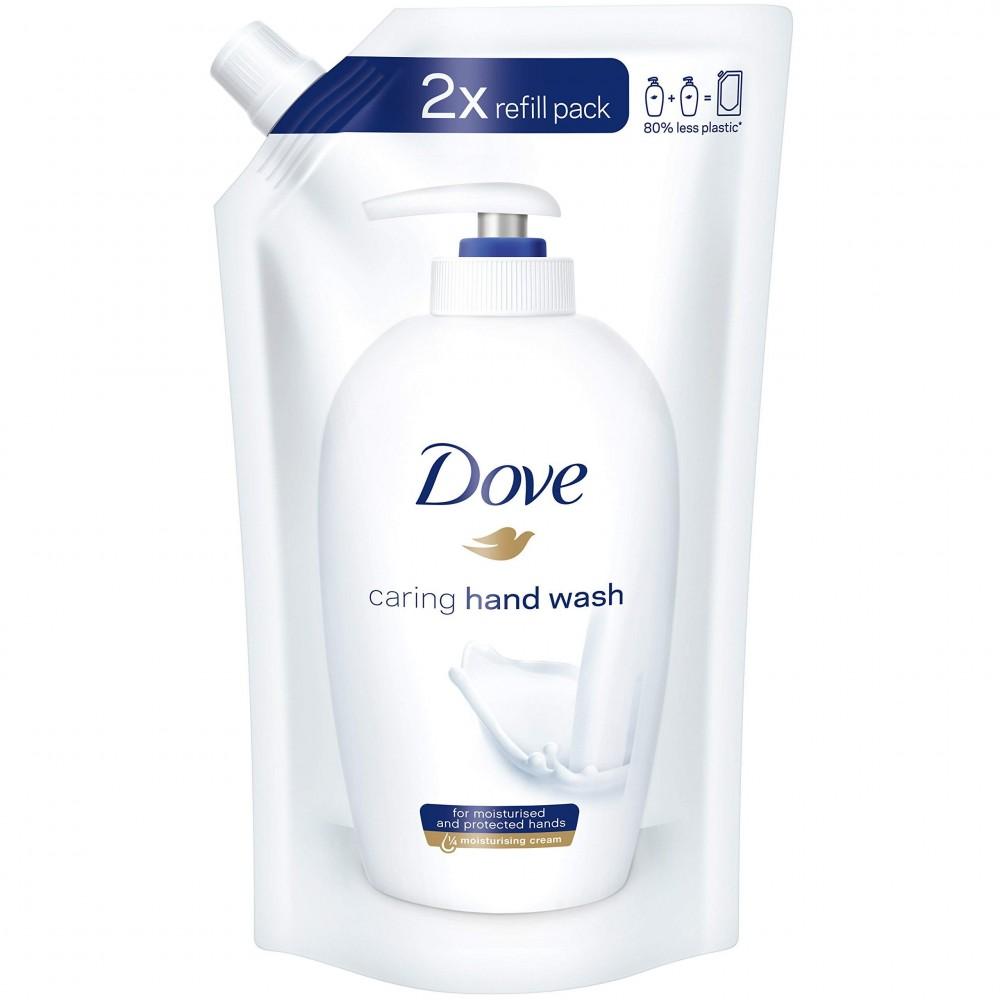 Dove Sapone Liquido caring hand wash Ricarica 500 ml Original