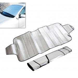 Telo copertura parabrezza antigelo e neve con alette di fissaggio 70 x 150cm LIFETIME CARS