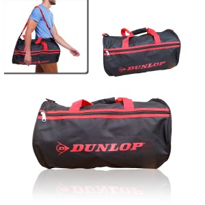 Image of Borsone due maniglie sport viaggio mare DUNLOP bagaglio a mano 50x30x22cm 8020002324661