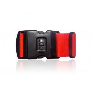 Image of Cintura bagaglio con lucchetto combinazioni 3 numeri cinghia proteggi valigia 8010003812458
