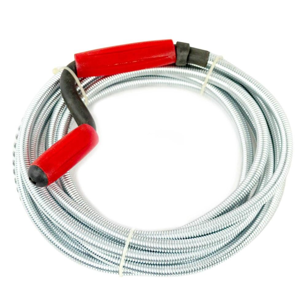 Sturalavandino 272095 a molla flessibile 9mm x 5mt con manico girevole e spirale