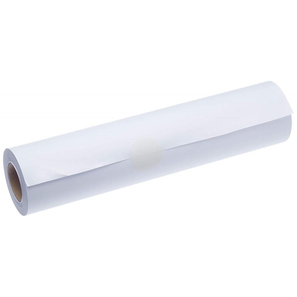 Rotolo di carta plotter 90gr 42 cm x 50 mt bianco puro A2 alta qualità