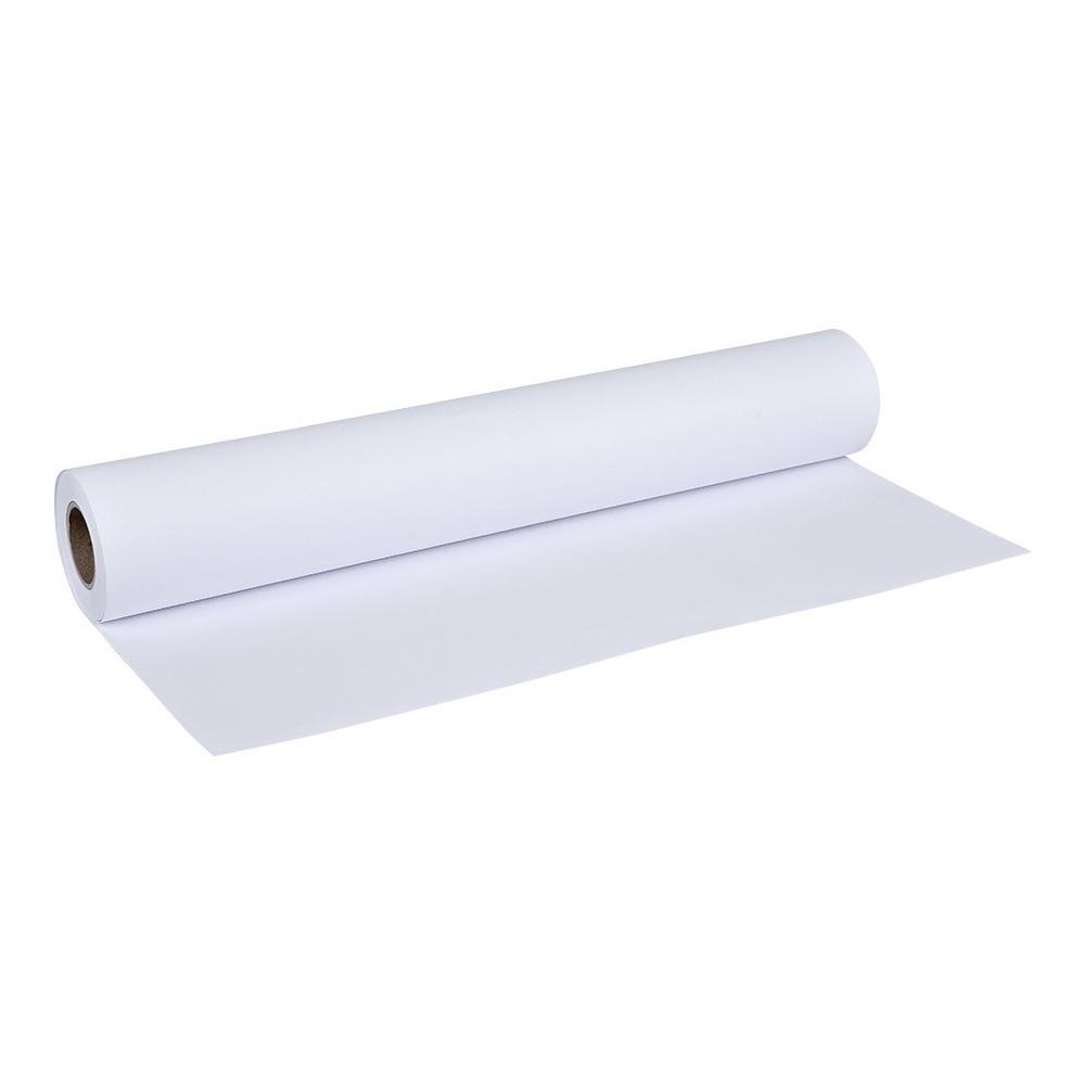 Rotolo di carta plotter 90gr 91,4 cm x 50 mt bianco puro A0 alta qualità