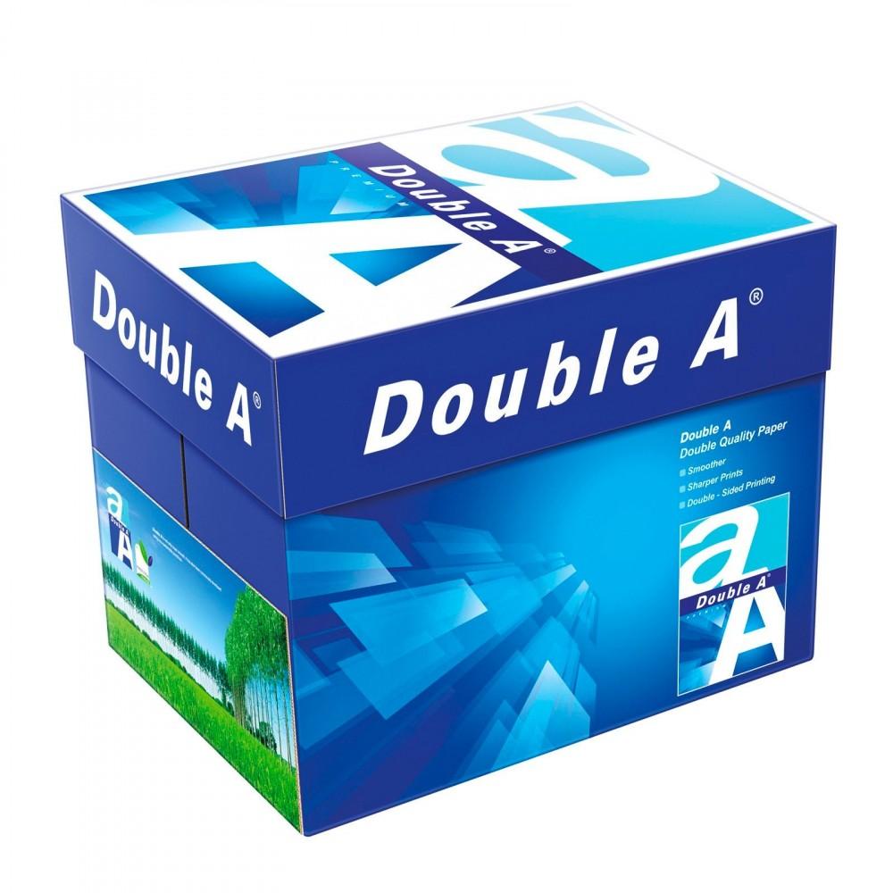 Pack da 5x Risme di carta 000042 formato A4 500 fogli da 80 g DOUBLE A Premium