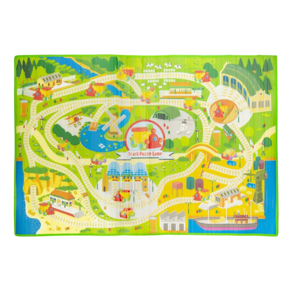 Tappetone Reversibile 121716 tappeto Morbido 2 in 1 per playground 120 x 180 cm