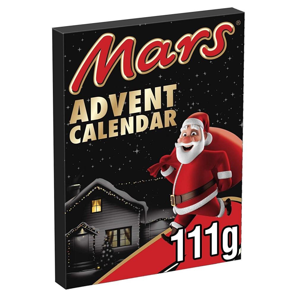Mars 406420 Calendario dell'avvento 111 gr mix di 23+1 pezzi