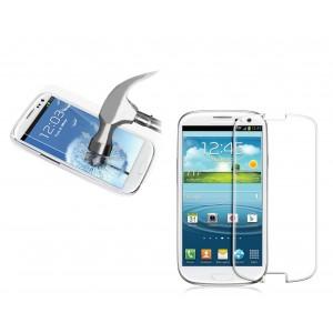 Pellicola trasparente in vetro temprato smartphone  protegge lo schermo da urti e cadute SAMSUNG S3