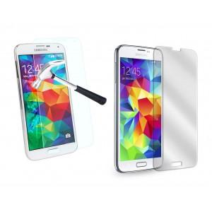 Pellicola trasparente in vetro temprato smartphone  protegge lo schermo da urti e cadute SAMSUNG S4