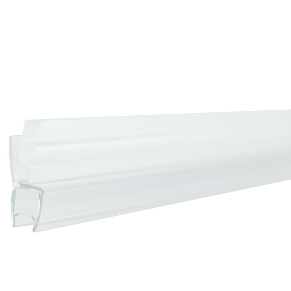 Guarnizione per box doccia e vetri 600mm in PVC resistente anti-muffa