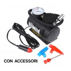 Mini compressore portatile 12v 250 psi x auto camper