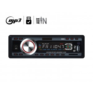 Stereo auto autoradio mp3 slot sd porta usb mp3-603 camper 12v