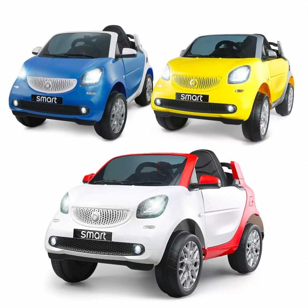 Smart For Two Auto Elettrica per Bambini GVC-532P Sedile in Ecopelle MP3 1 Posto