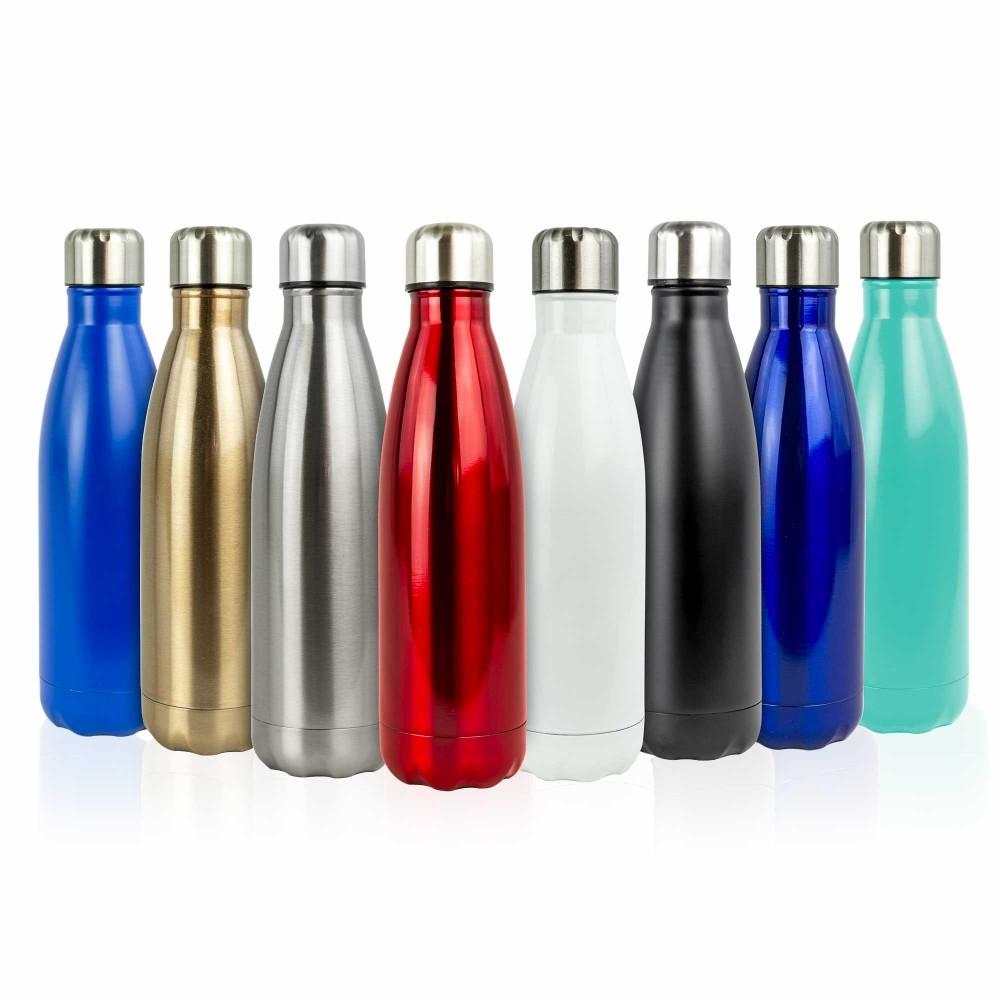 500 mL Borraccia bottiglia termica riutilizzabile in ACCIAIO 186168 Senza BPA