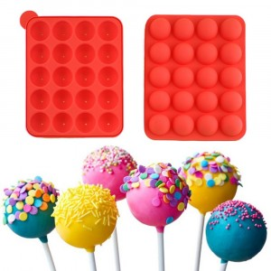 Lolli-cakes stampo per dolci a forma di lecca lecca