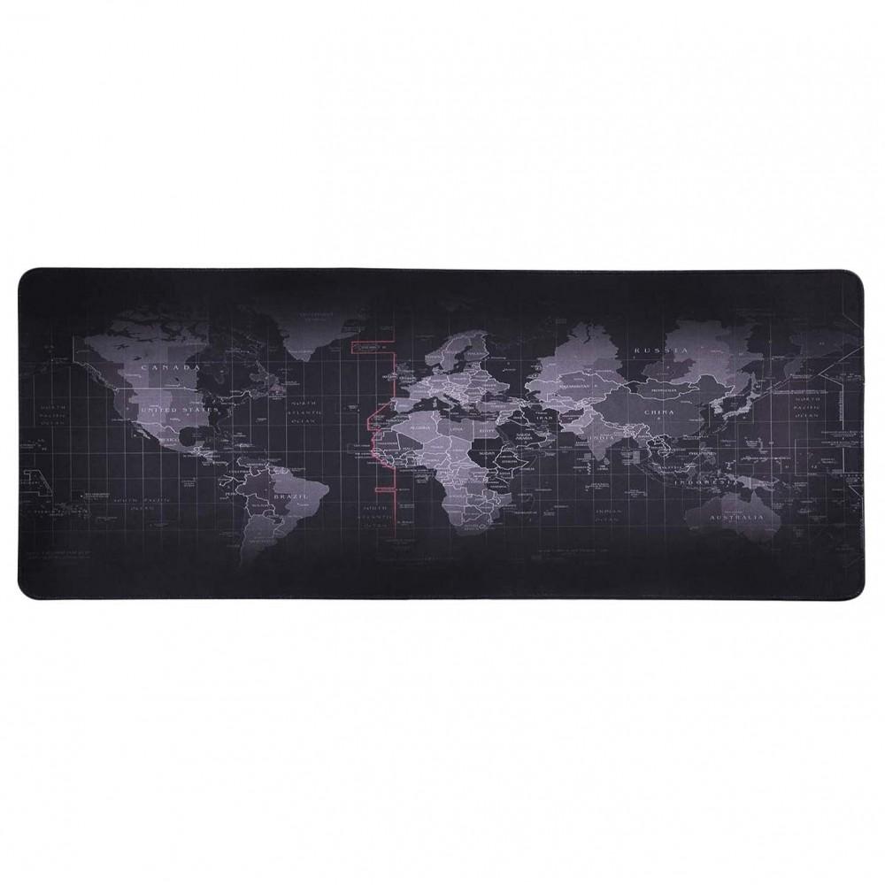 Tappeto Scrivania mouse pad antiscivolo Mappamondo computer desktop 900x400x3mm