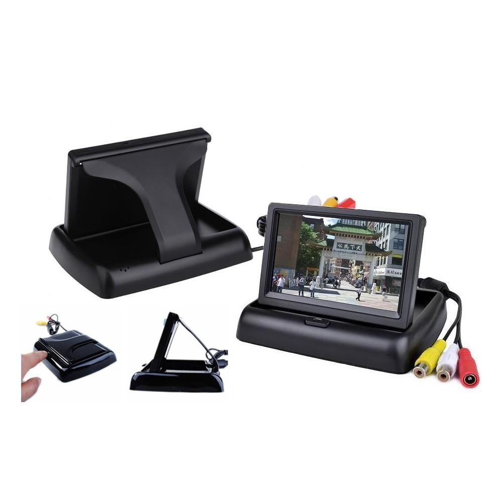 Monitor 3.5 parcheggio a scomparsa per telecamera retromarcia auto