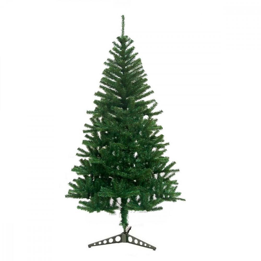 Albero di Natale artificiale 120 cm con 200 punte rami folti PINO DELLE SORPRESE