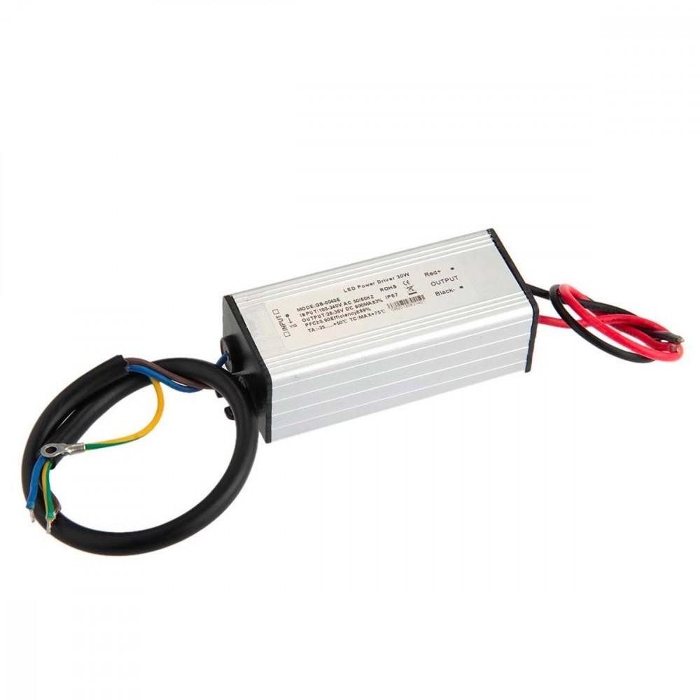 Alimentatore led driver ricambio per fari trasformatore 10-20-30-50 o 100 Watt