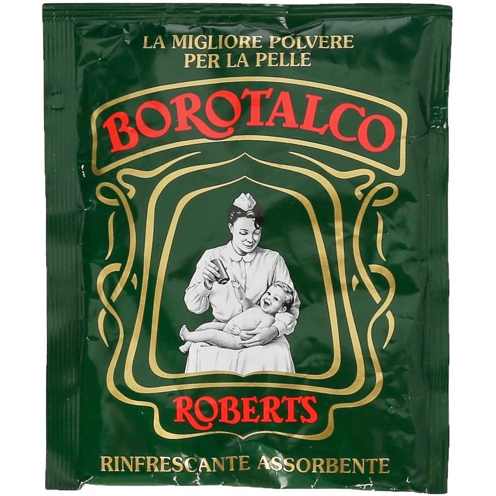 Borotalco Roberts Polvere per tutti i tipi di pelle Rinfrescante Busta da 100 gr