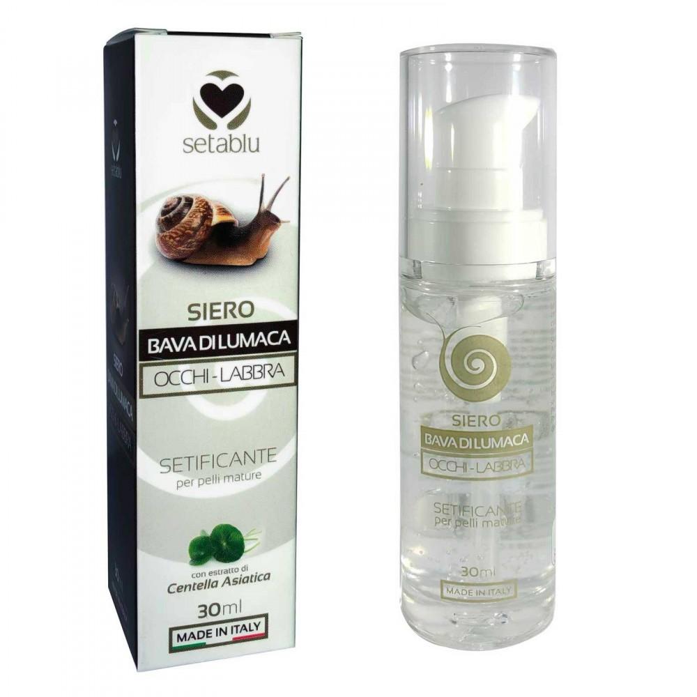 SETABLU Siero Bava di Lumaca 579919 Occhi Labbra rigenerante 30 ml