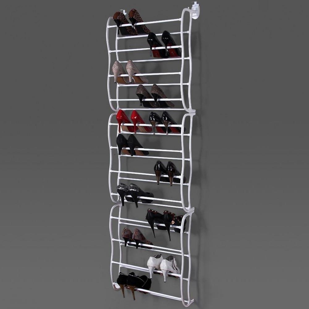 Appendi Pentole A Muro rack organizer 36 paia di scarpe modulare per porta e parete